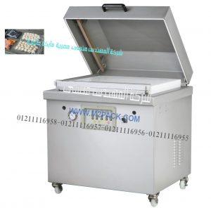 ماكينة تغليف المنتجات الغذائية والأطعمه بالفاكيوم شفط هواء موديل إم تو باك 601 ماركة المهندس منسي :