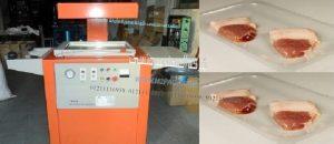 ماكينة اتوماتيك لتغليف المنتجات بالفاكيوم تشكيل موديل 605 ماركة المهندس منسي :